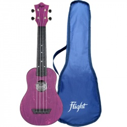 Flight Soprano Travel Ukulele TUS-35-PP