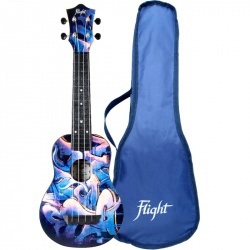Flight Soprano Travel Ukulele TUS-40 Graffiti