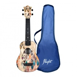 Flight Soprano Travel Ukulele TUS-40 Granada