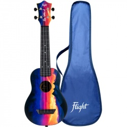Flight Soprano Travel Ukulele TUS-EE Sunset