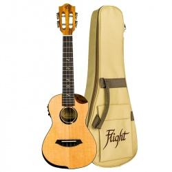Koncerta elektro-akustiskā ukulele Flight Victoria CEQ