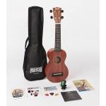 Mahalo soprano ukulele kit MJ1-TBR-K