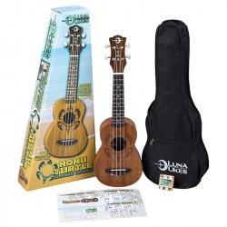 Ukuleles komplekts Luna Guitars UKE-HONU