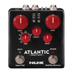 NUX Atlantic Delay & Reverb Pedal NDR-5