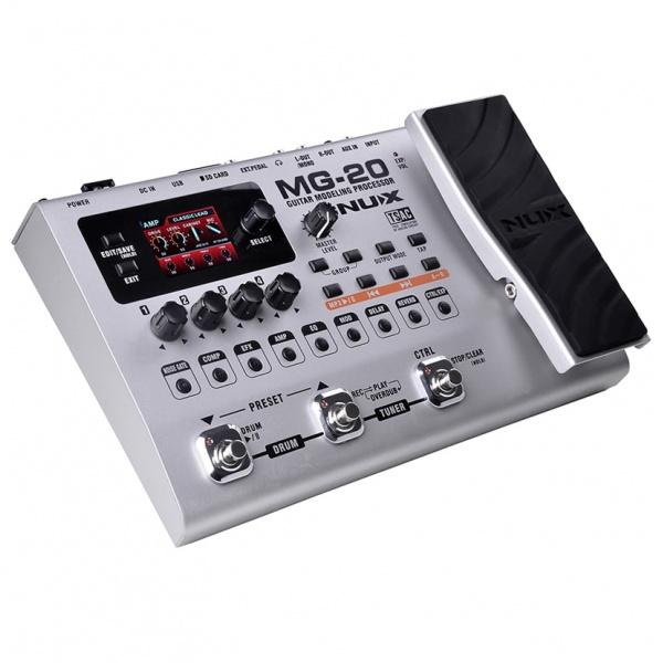 Ģitāras efektu procesors Nux MG-20