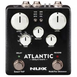 Nux Atlantic Delay & Reverb efektu pedālis NDR-5