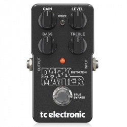 TC Electronic Distortion pedal Dark Matter