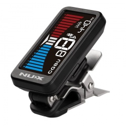 NuX NTU-1 Metal Clip on Tuner HD Color LCD