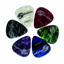 6-piece guitar pick kit Cell Set