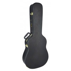 Jumbo tipa ģitāras cietais koferis CAC-100-J