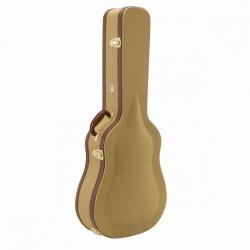 Akustiskās ģitāras cietais koferis TD100-A