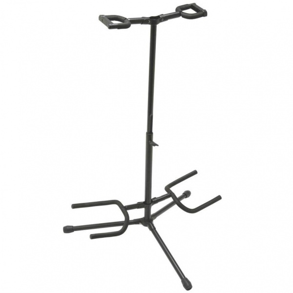 Universal double guitar and bass stand GS50D-BK