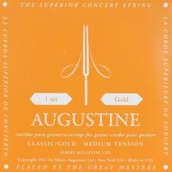 Augustine Classical Guitar Strings Gold