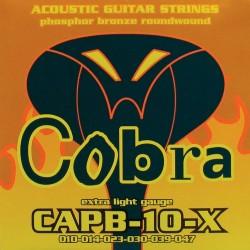 Akustiskās ģitāras stīgas CAPB 10X (10-47)