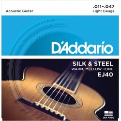 Acoustic Guitar Strings D'Addario EJ40 (11-47)