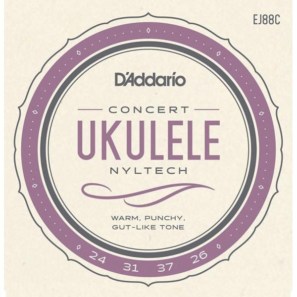 D'Addario Concert Ukulele String Set EJ88C