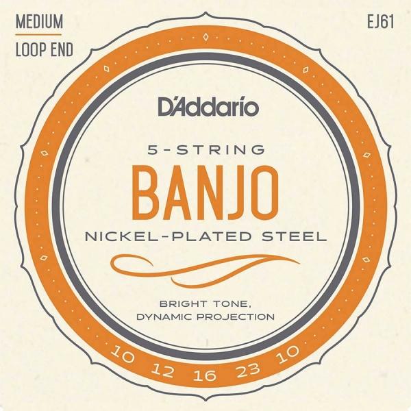 D'Addario string set 5-string banjo EJ-61