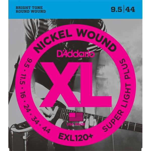 D'Addario Electric Strings EXL120-PLUS (09.5-44)