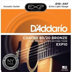 D'Addario string set acoustic EXP10 (10-47)