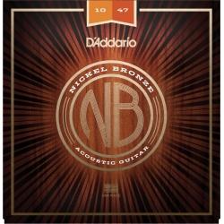 Acoustic Guitar Strings D'Addario NB1047 (10-47)