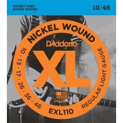 Elektriskās ģitāras stīgas D'Addario EXL110 (10-46)
