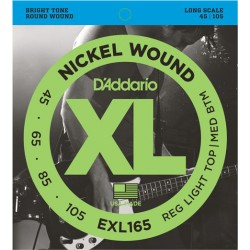 Bass Guitar Strings D'Addario EXL165 (45-105)