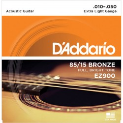 Acoustic Guitar Strings EZ900 (10-50)