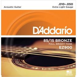 Akustiskās ģitāras stīgas EZ900 (10-50)