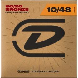 Dunlop Acoustic Guitar Strings DAB1048 (10-48)