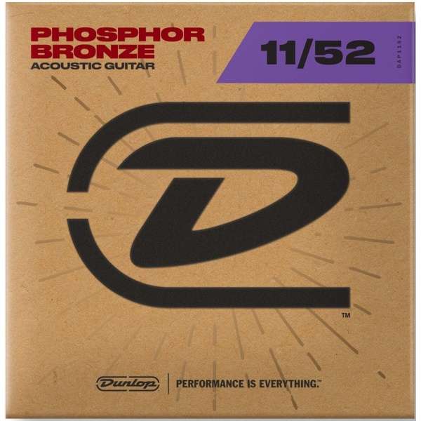 Dunlop Acoustic Guitar Strings DAP1152 (11-52)