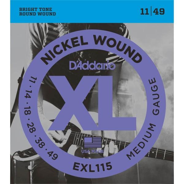D'Addario Electric Strings EXL115 (11-49)