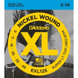 D'Addario Electric Strings EXL125 (09-46)