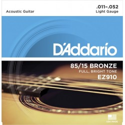 Acoustic Guitar Strings EZ910 (11-52)