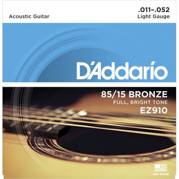 Acoustic Guitar Strings EZ910 (11-52)