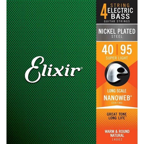 Elixir Bass string set 14002 (40-95)