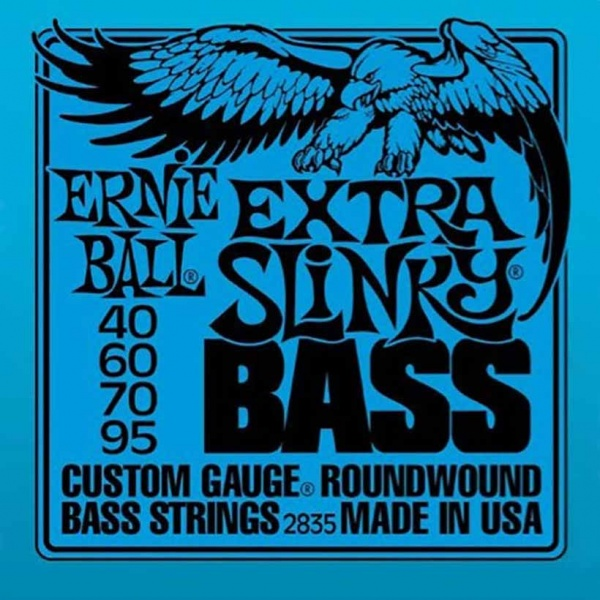 Bass Guitar Strings Ernie Ball 2835