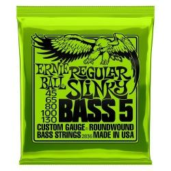 5-string Bass Guitar Strings Ernie Ball 2836