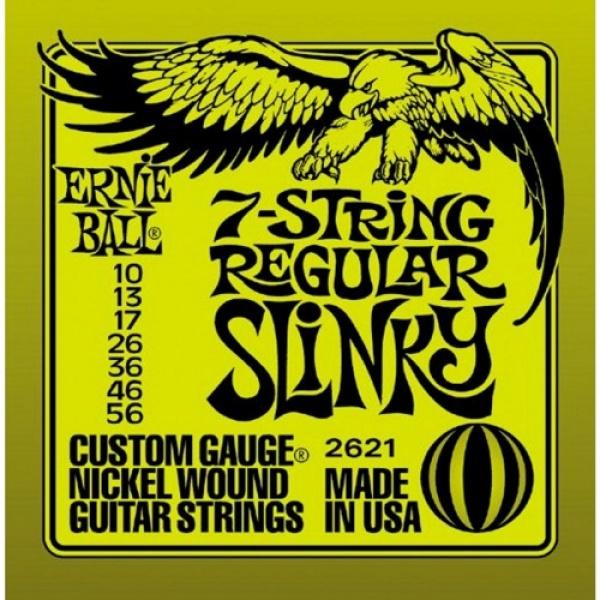 7 String Electric Guitar Strings  2621 (10-56)