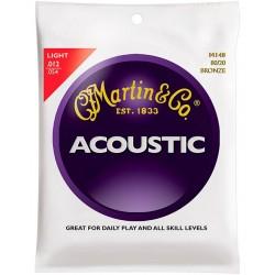 Akustiskās ģitāras stīgas Martin M140 (12-54)