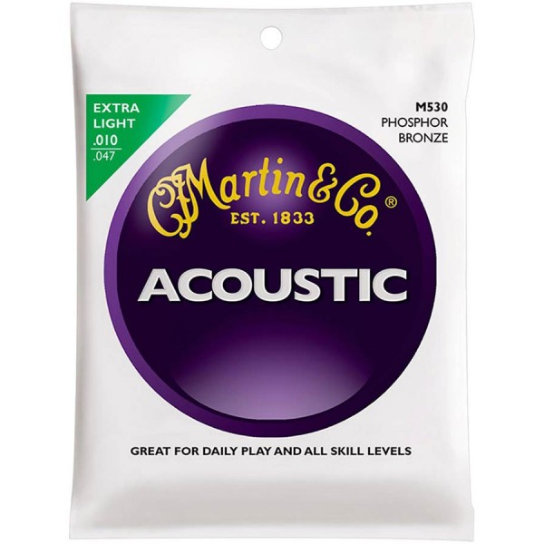 Martin Acoustic Guitar Strings M530 (10-47)