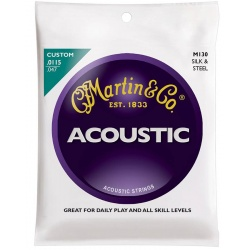 Martin Acoustic Guitar Strings M130 (11-47)