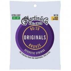 Martin acoustic Guitar Strings M170 (10-47)