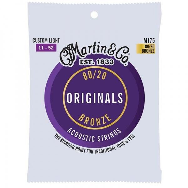 Martin acoustic Guitar Strings M175 (11-52)