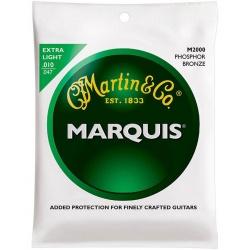 Akustiskās ģitāras stīgas Martin M2000 (10-47)