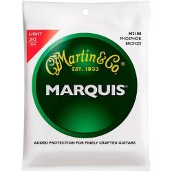 Akustiskās ģitāras stīgas Martin M2100 (12-54)
