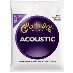 Akustiskās ģitāras stīgas Martin M535 (11-52)