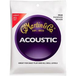 Akustiskās ģitāras stīgas Martin M540 (12-54)