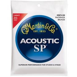 Akustiskās ģitāras stīgas Martin MSP-4100 (12-54)