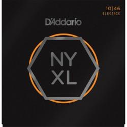 Elektriskās ģitāras stīgas D'Addario NYXL1046