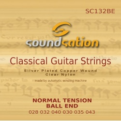 Classical Guitar Strings SC132 Ball End